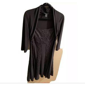Frank Lyman Dress Size 14, Black